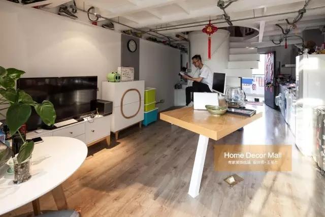 绝了!看福州设计师如何玩转32㎡单身公寓!